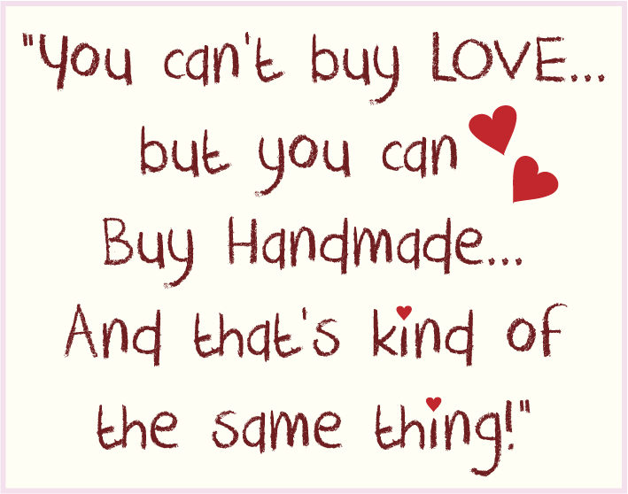 Handmade With Love Handmade Gifts From The Heart