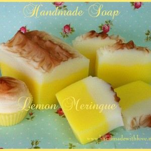 Handmade Soap  Lemon Meringue Soap