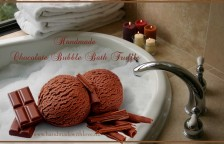 chocolate bath truffle