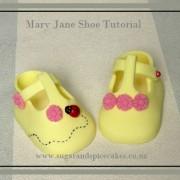 Mary Jane Baby Shoe