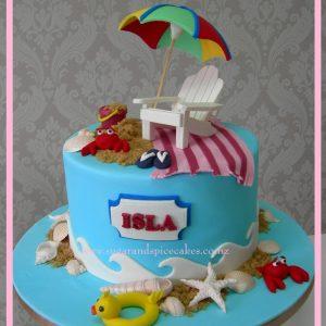 beach cake 1