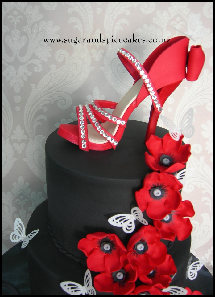 Tutorial Sugarcraft Stiletto Sugar Shoes Cake Topper
