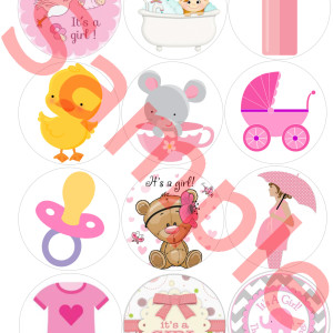 Baby Shower Girl draft