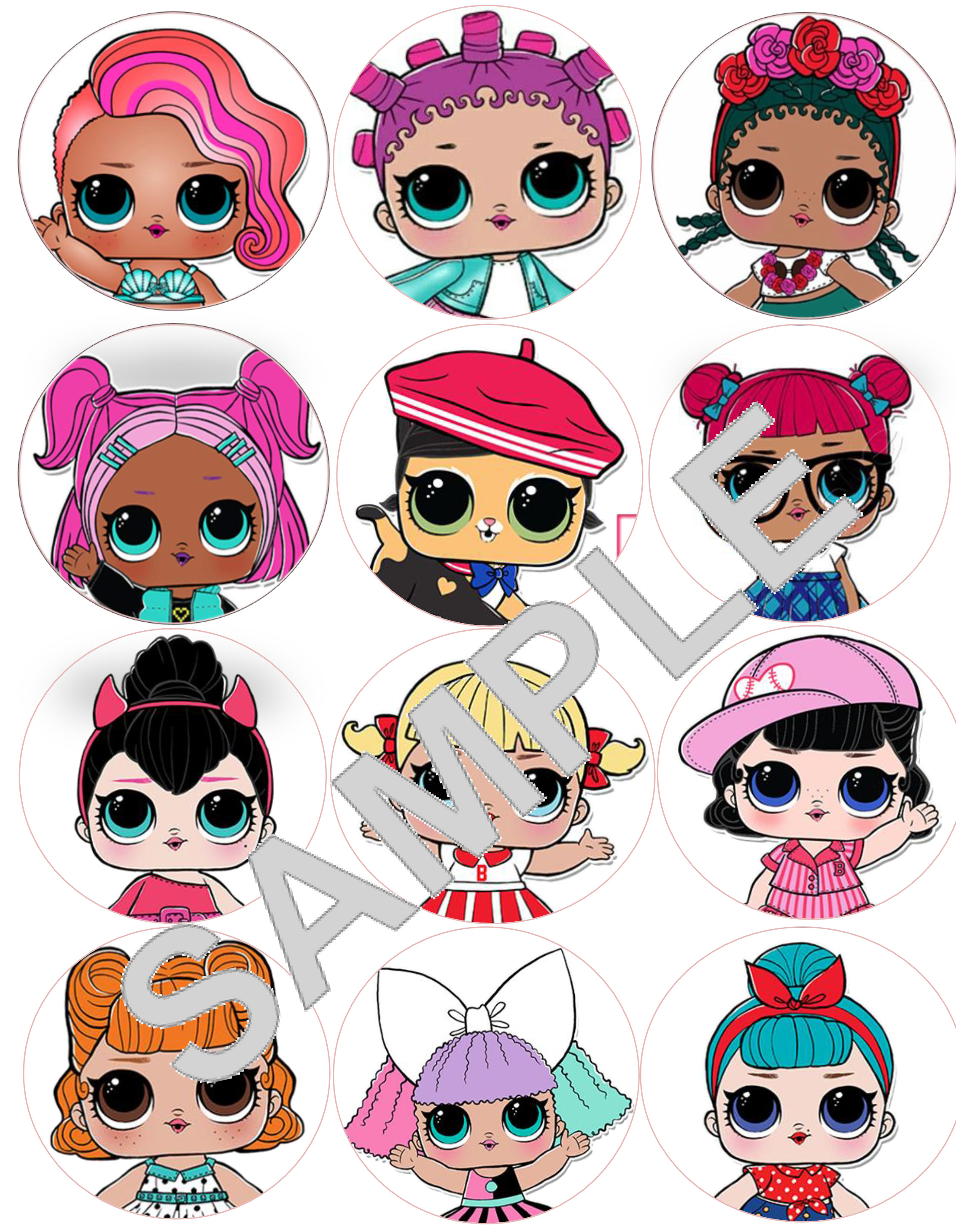 This is a graphic of Clever Lol Doll Images