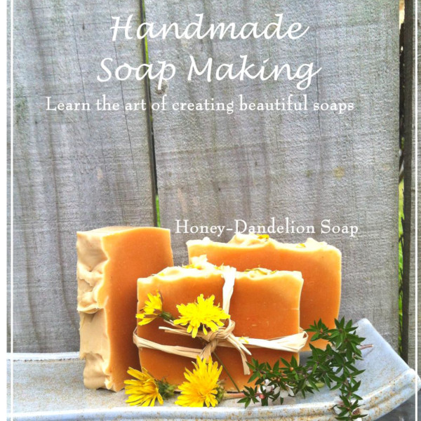 Handmade Soap Making book front large