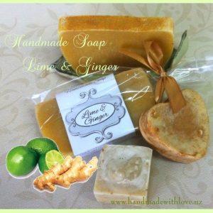 lime-ginger-soap